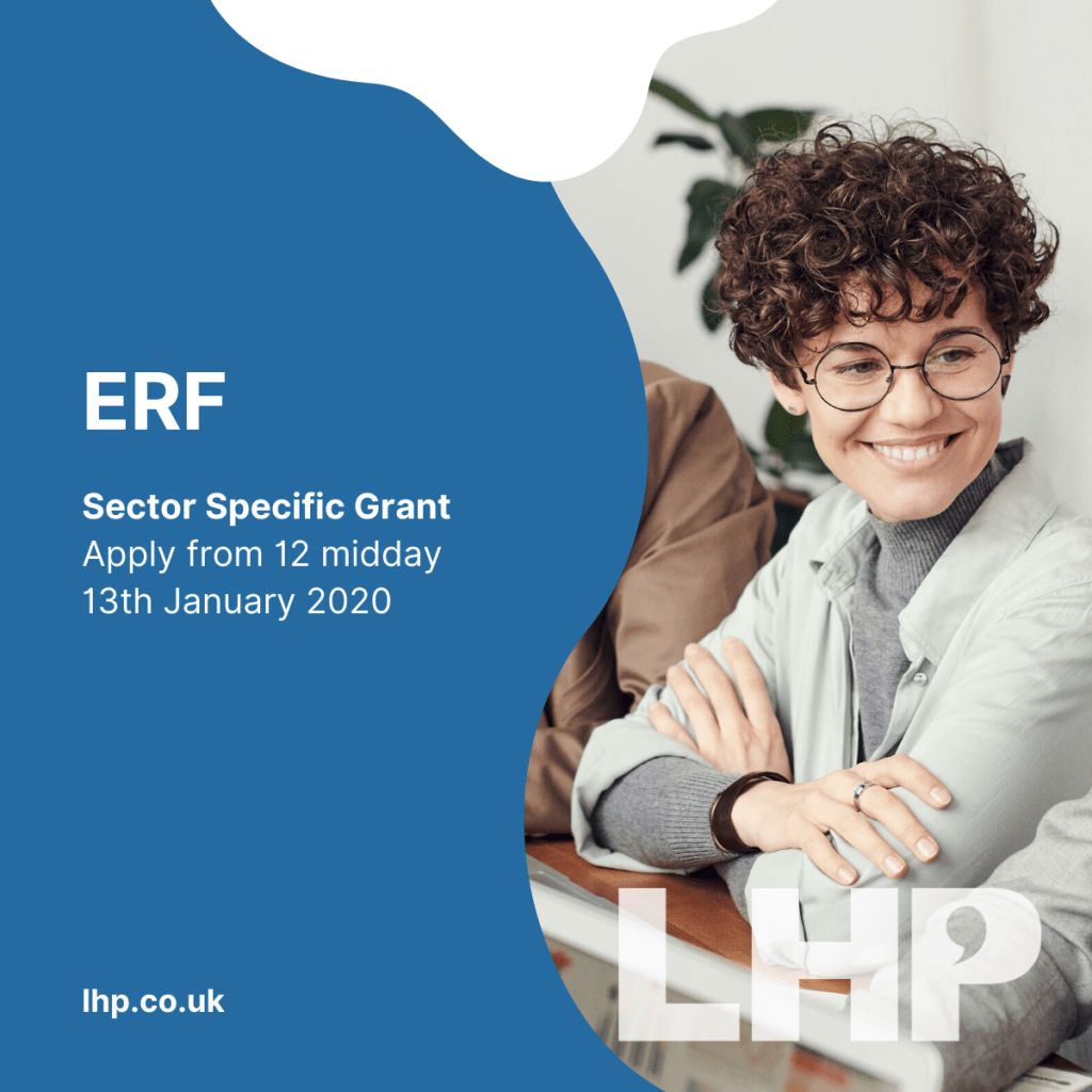 ERF Sector Specific Grant Opens to Applicants