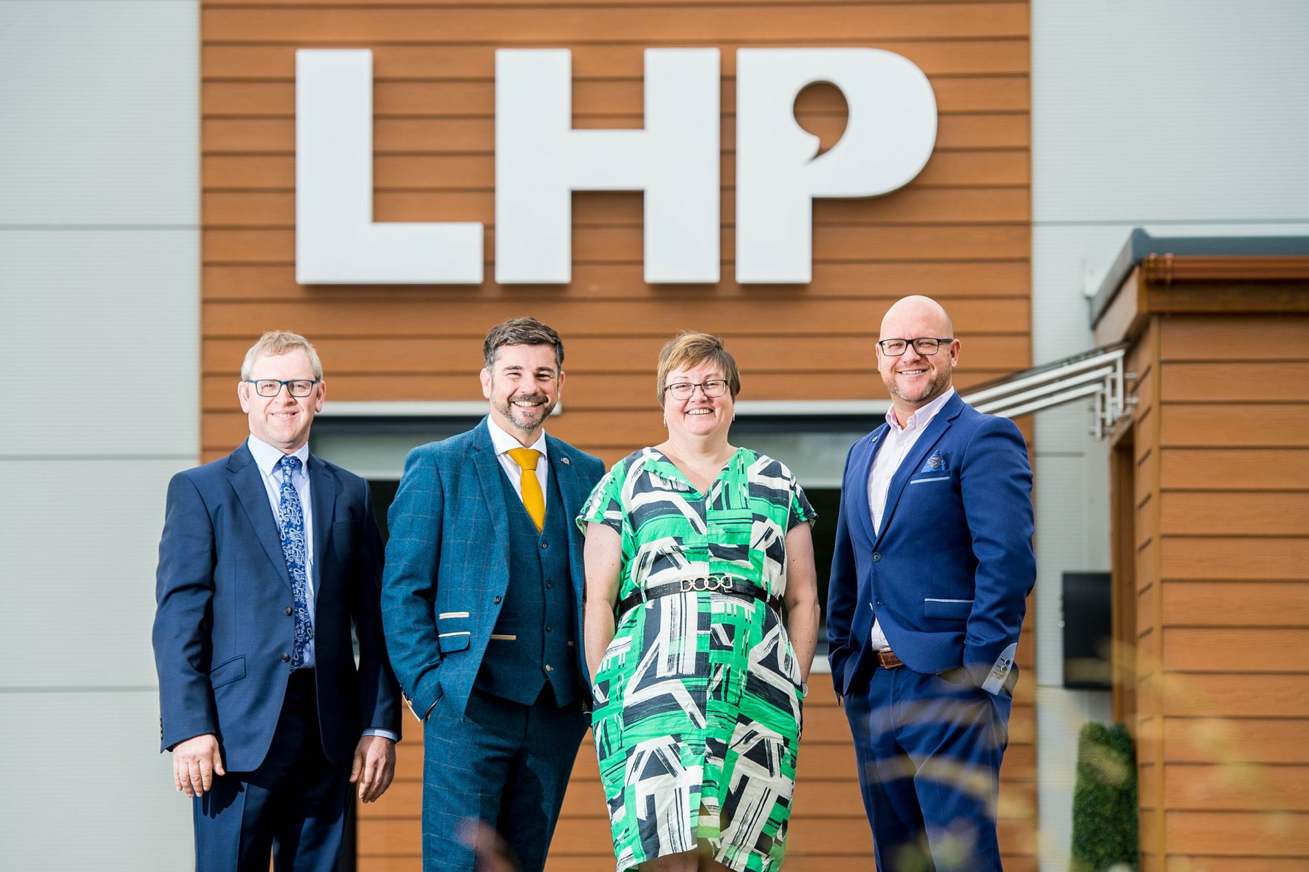 Meet The Team at LHP - photo of the four directors