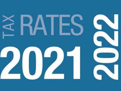 TAX RATES CARD 2021/22